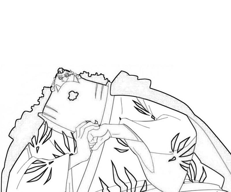Printable Jinbei Coloring Pages