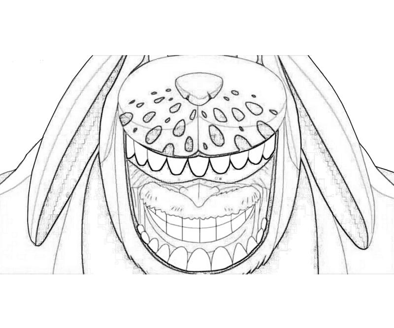 Printable Monkey D. Garp  Coloring Pages