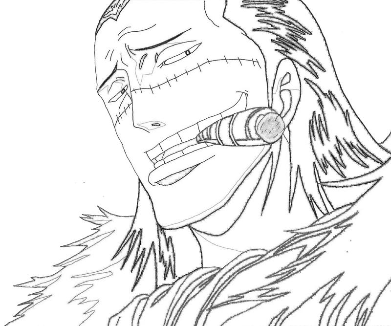 One Piece Crocodile 7