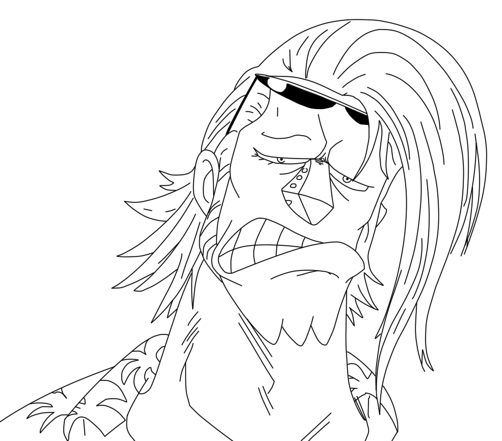 Printable Franky Coloring Pages