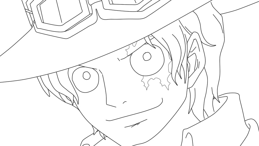 Printable Sabo Coloring Pages
