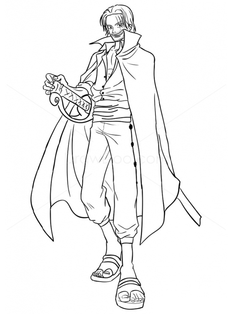 Printable Shanks Coloring Pages