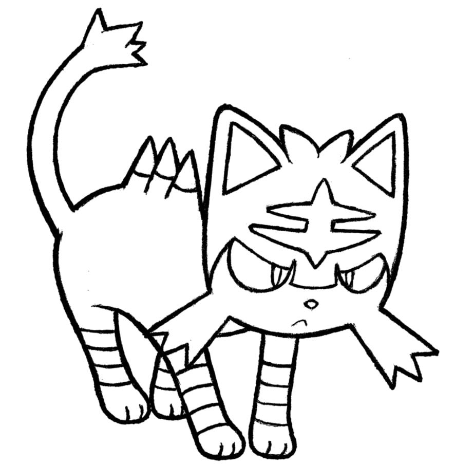 Pokemon Litten 3