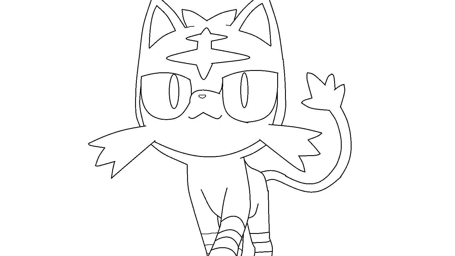 Pokemon Litten 4