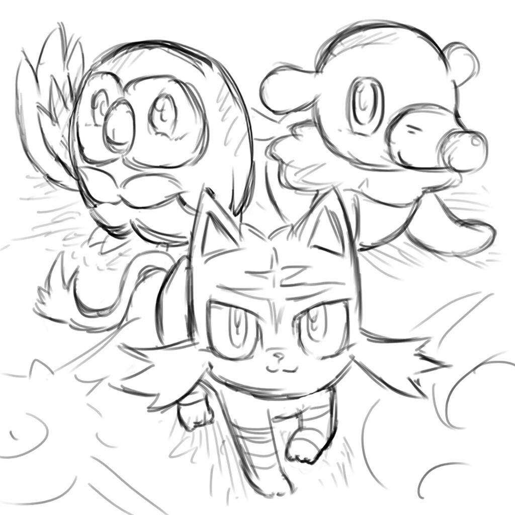 Pokemon Litten 7