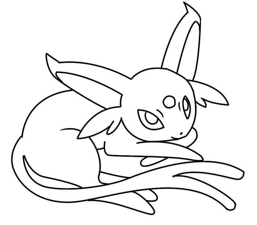 Pokemon Espeon 7