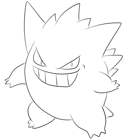 Pokemon Gengar 3