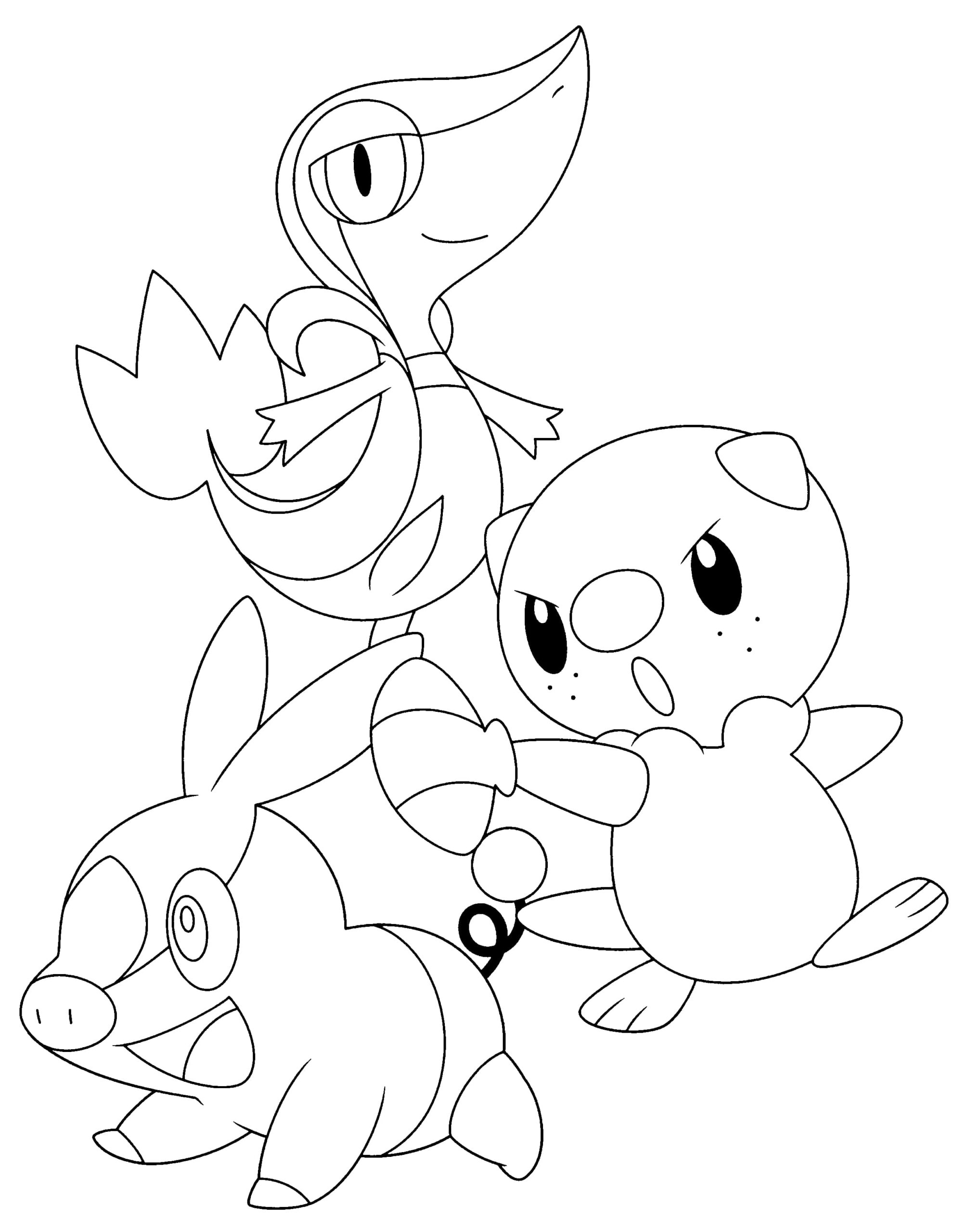 Pokemon Snivy 2