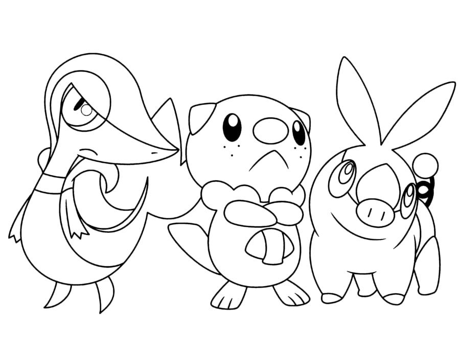 Pokemon Snivy 4