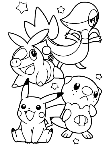 Pokemon Snivy 7