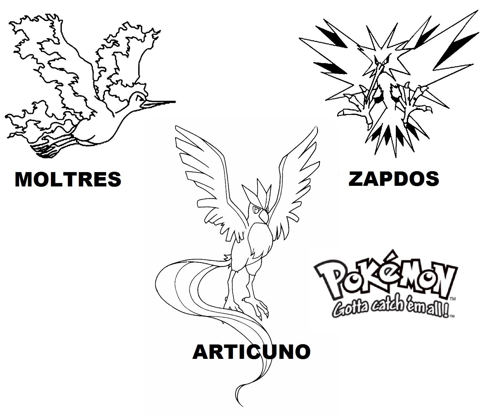 Pokemon Zapdos
