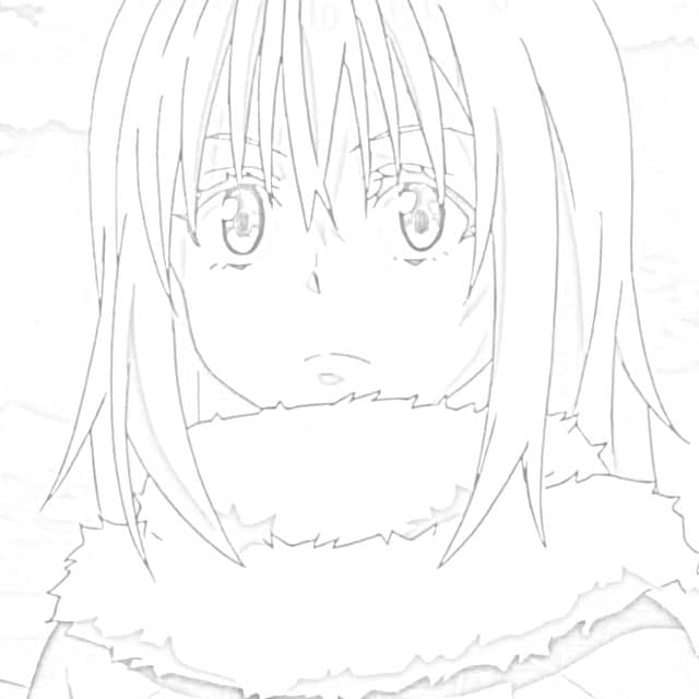 Anime Coloring Pages - Printable Coloring For Kids