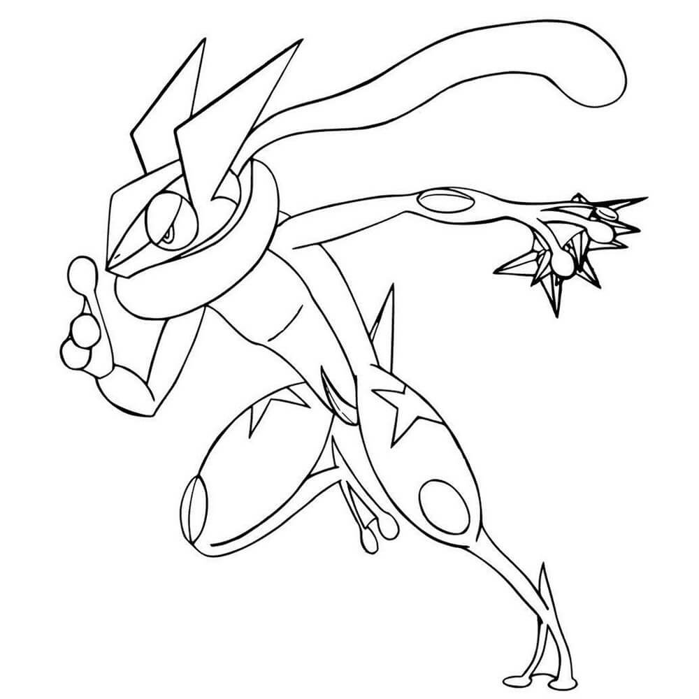 Greninja Pokemon 1