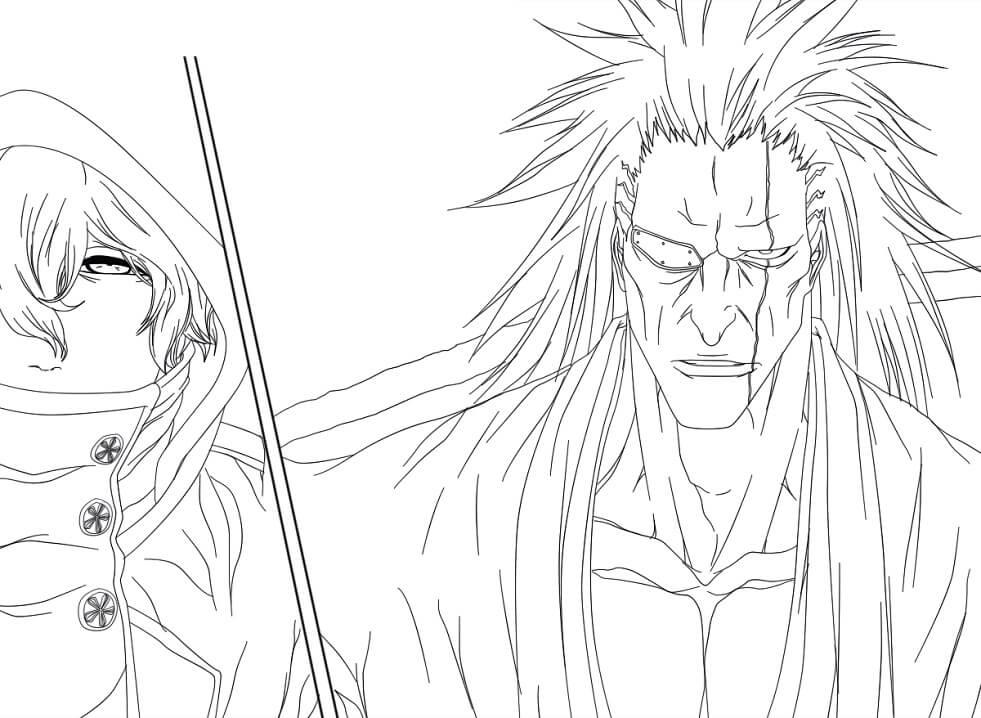 angry zaraki kenpachi