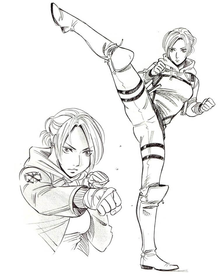 Strong Annie