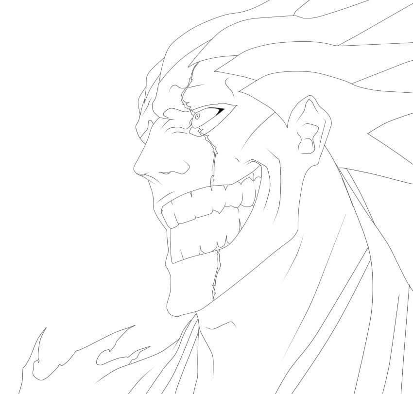 zaraki kenpachi feels happy