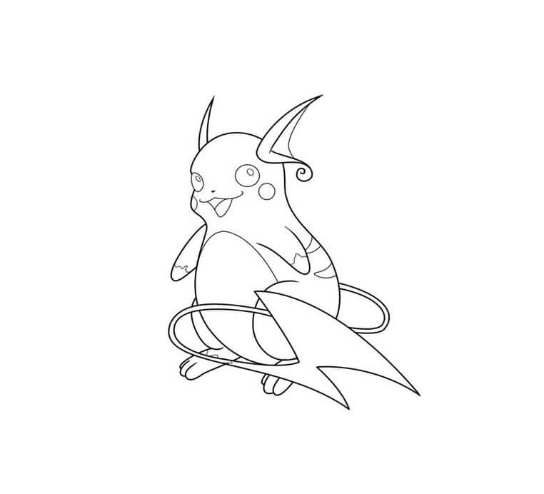 adorable raichu pokemon