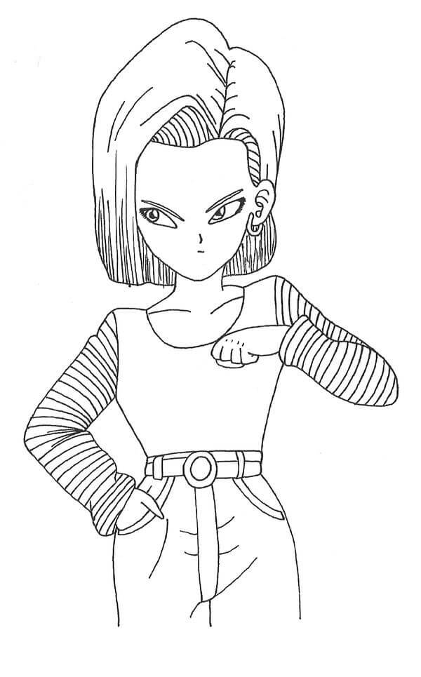 amazing android 18