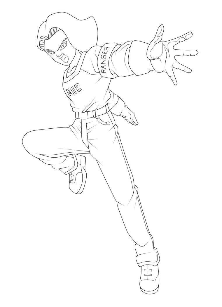 android 17 action