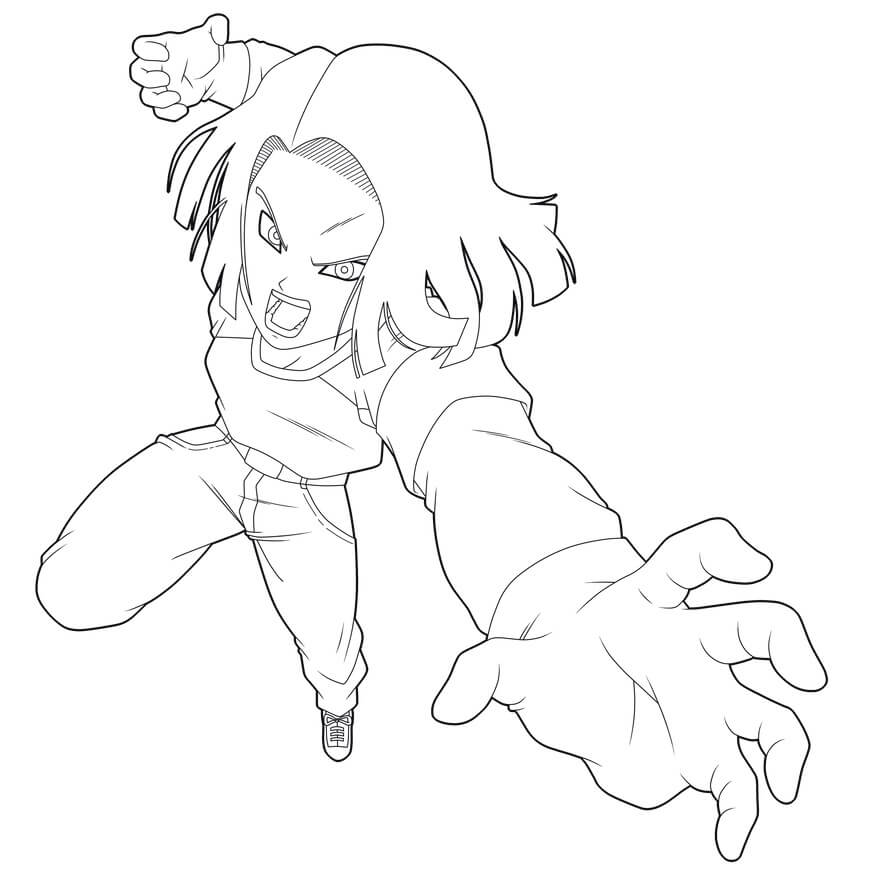 android 17 attack