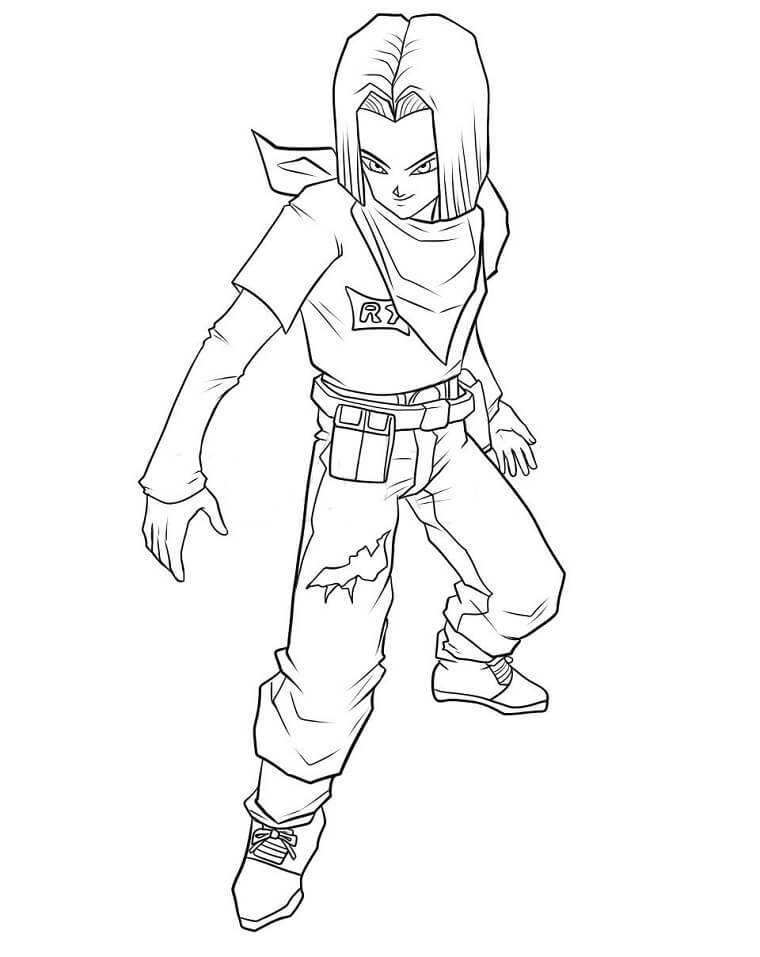 android 17 fighting