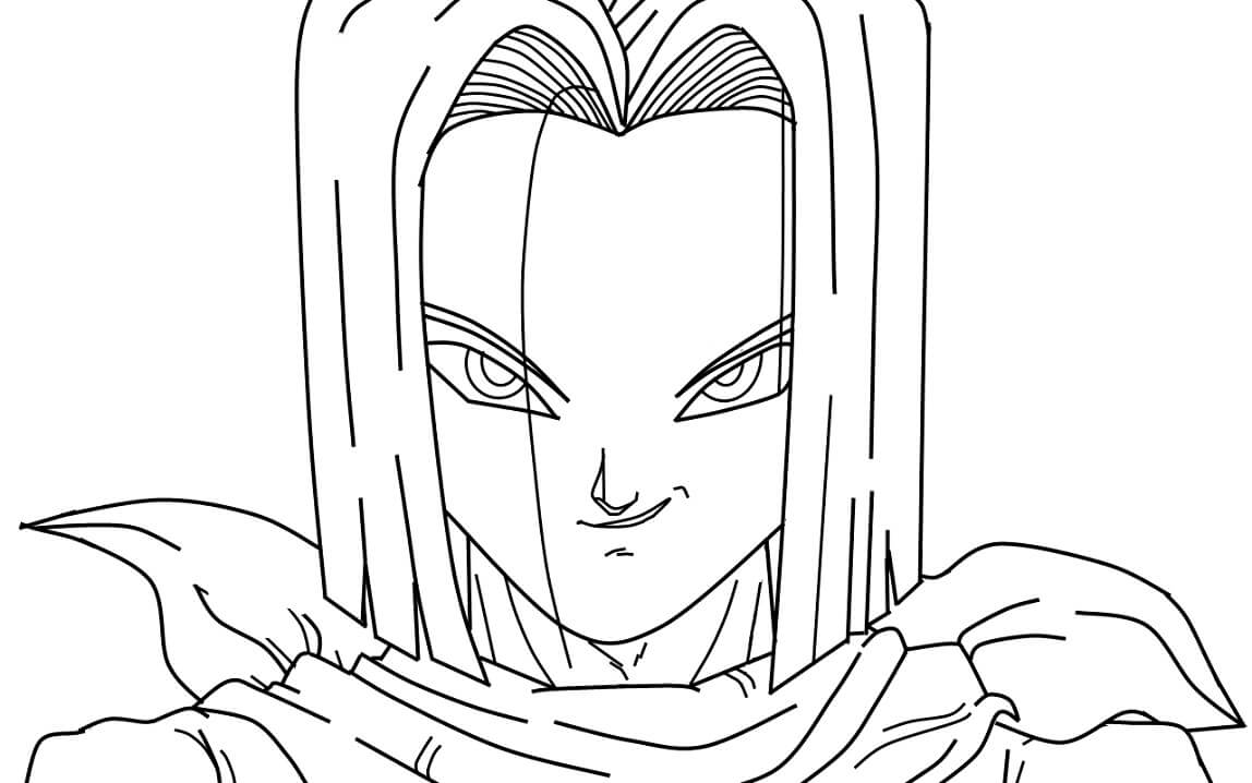 android 17 from dragon ball