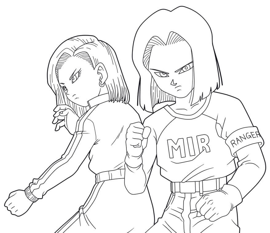 android 17 with android 18