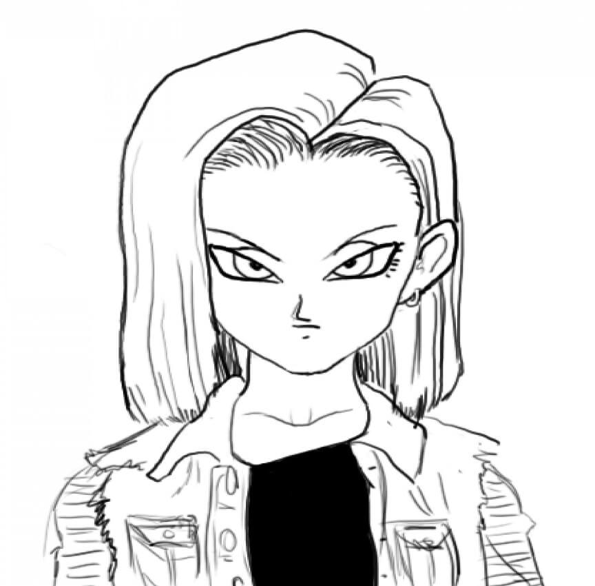 android 18 normal