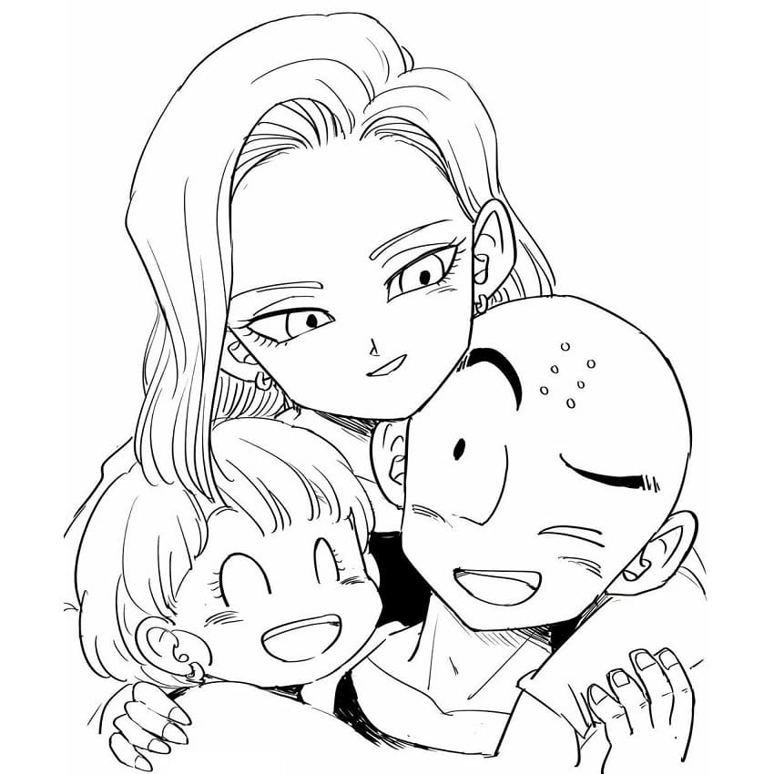 android 18 's family