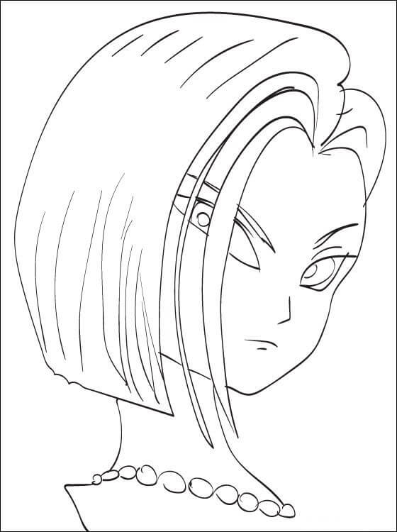 android 18's drawing
