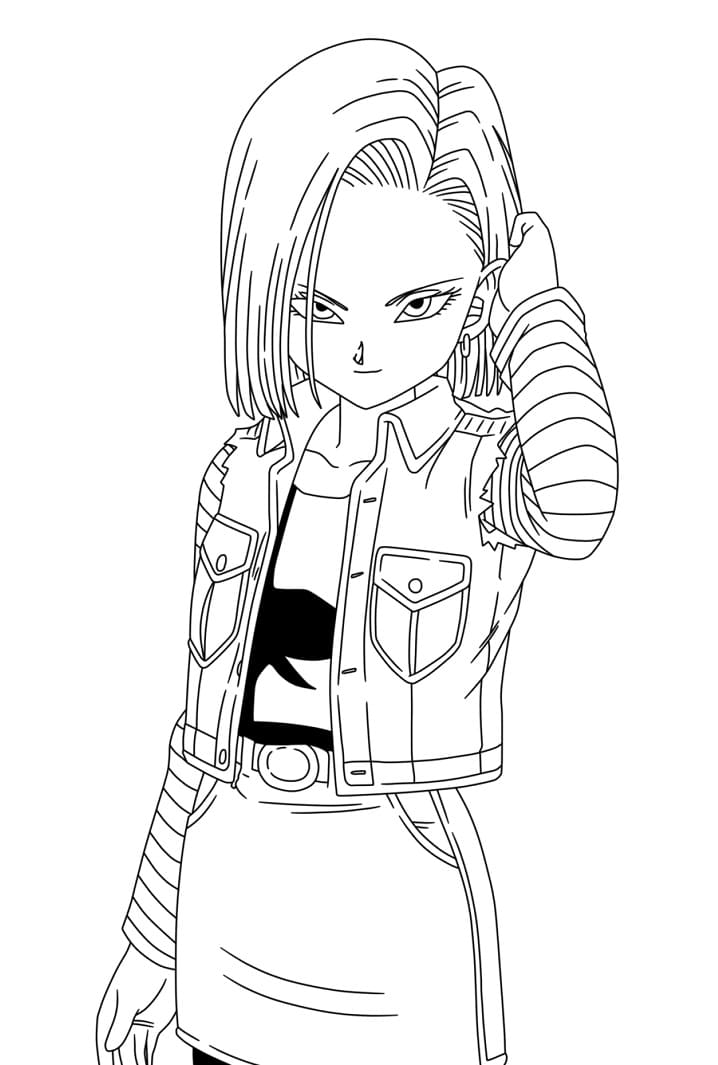 awesome android 18