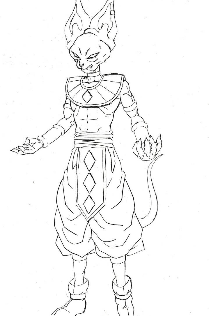 beerus from dragon ball