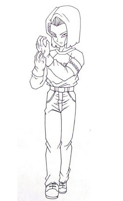 cool android 17