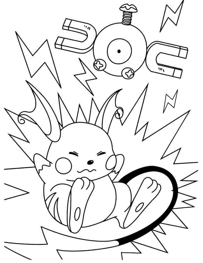 funny raichu pokemon