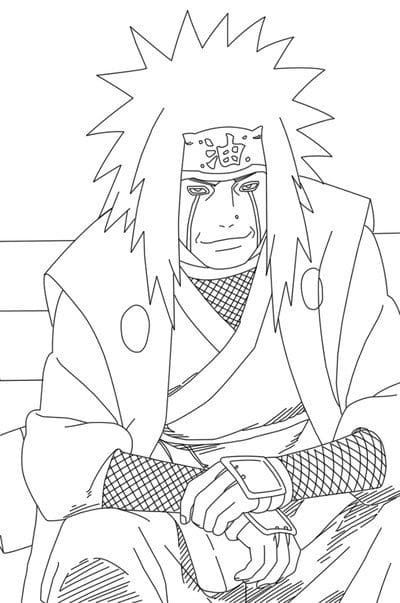 happy jiraiya