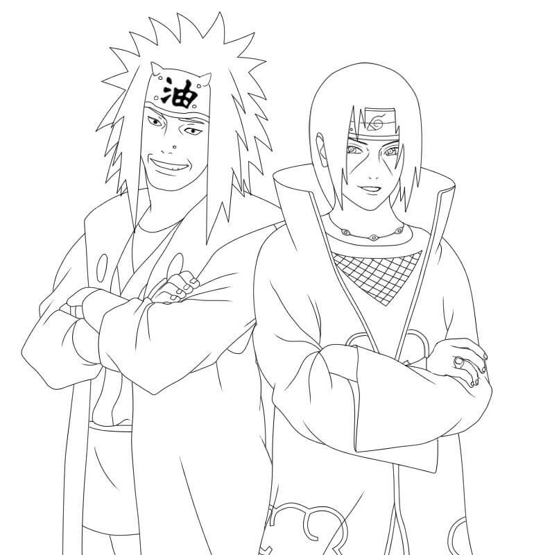 jiraiya and itachi