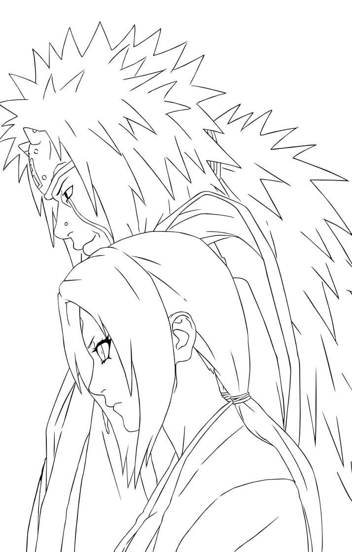 jiraiya and tsunade