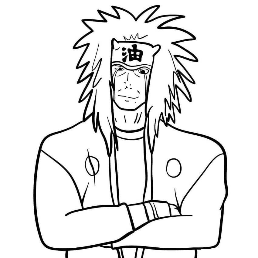 jiraiya is smiling