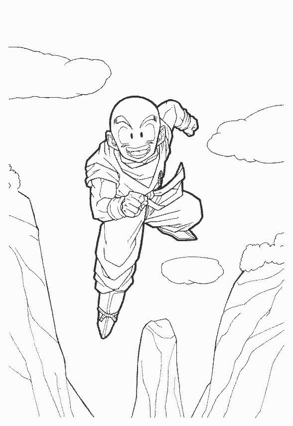 krillin flying