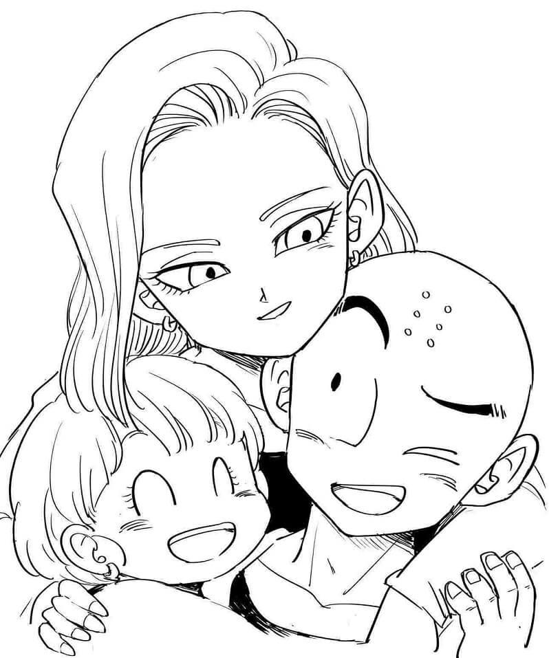 krillin's family