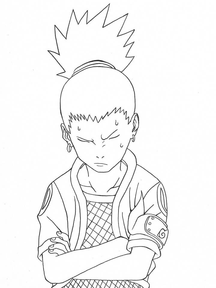 shikamaru is thinking