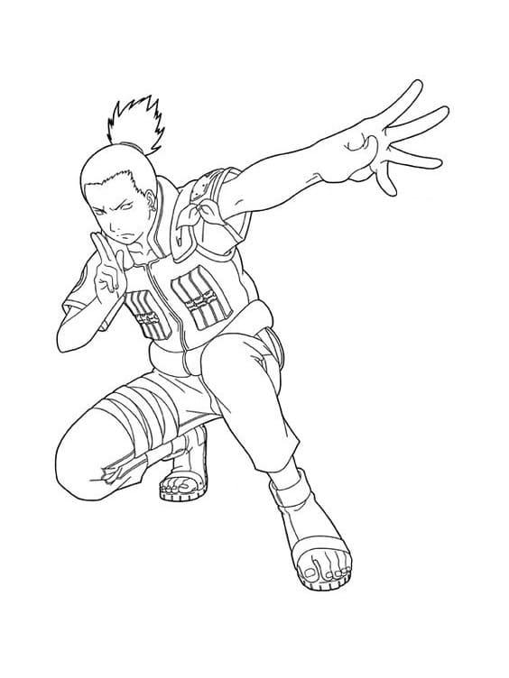 shikamaru using ninjutsu