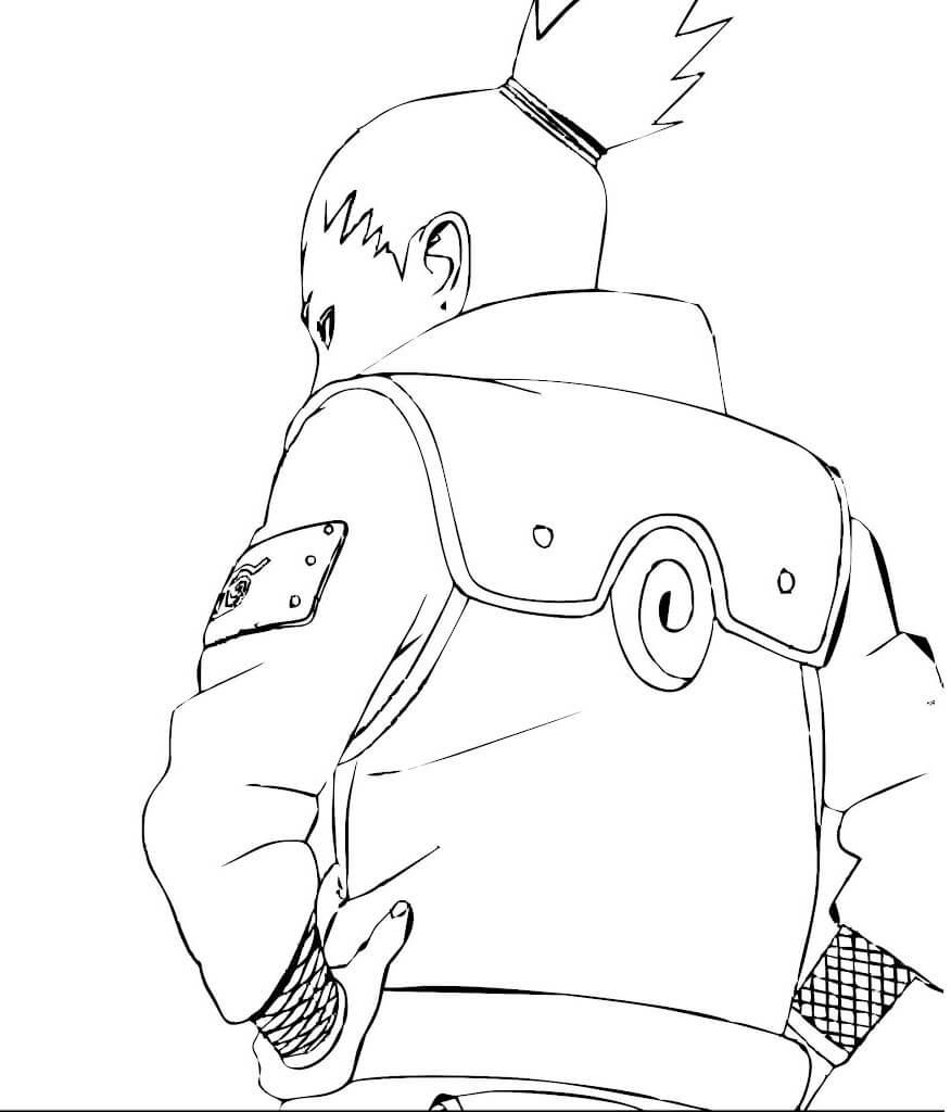 shikamaru's back