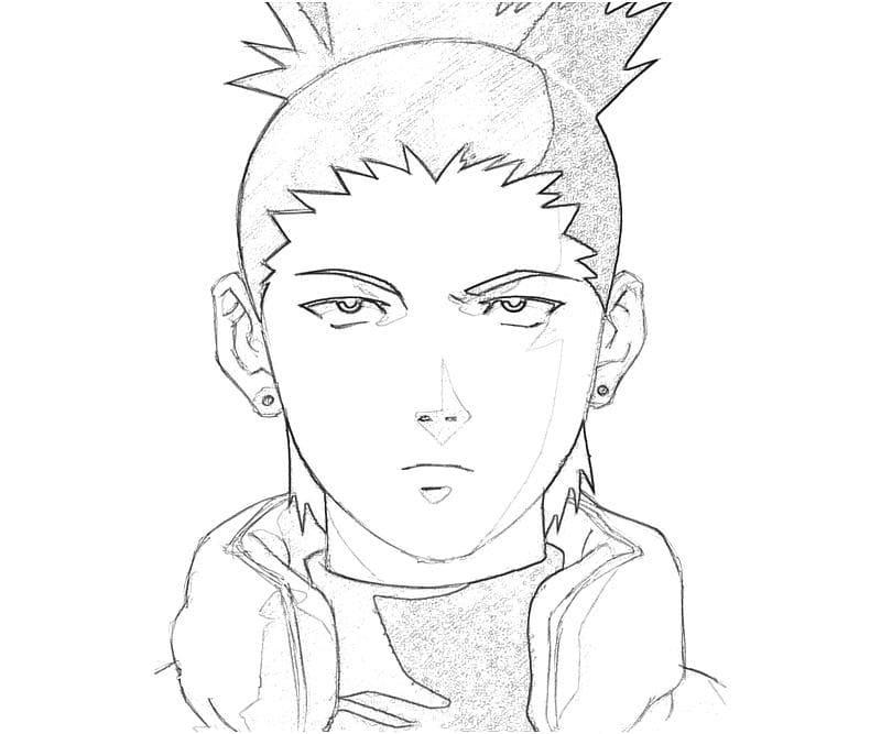 shikamaru's face