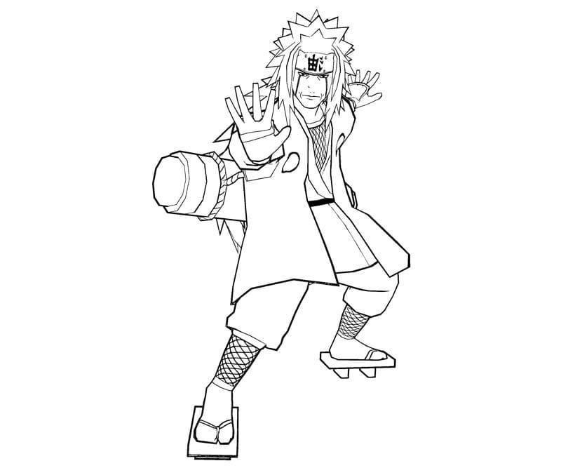 strong jiraiya
