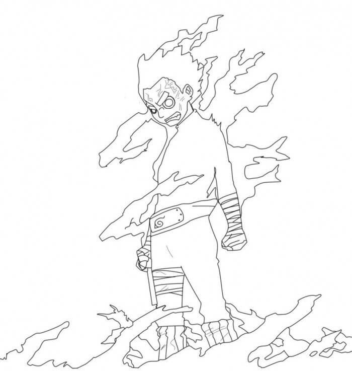 strong rock lee