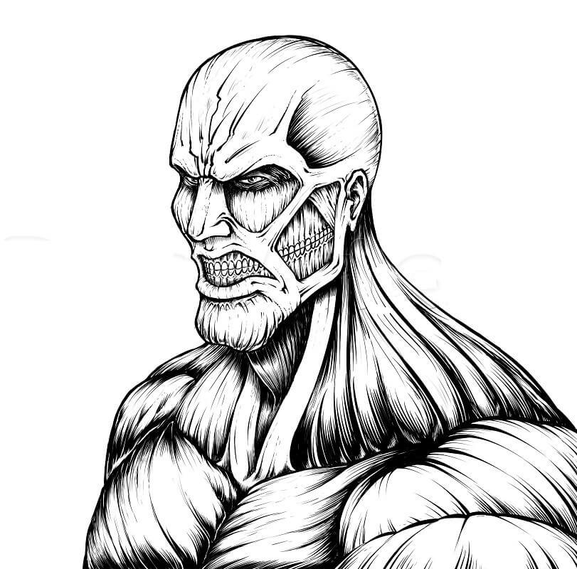 angry colossus titan