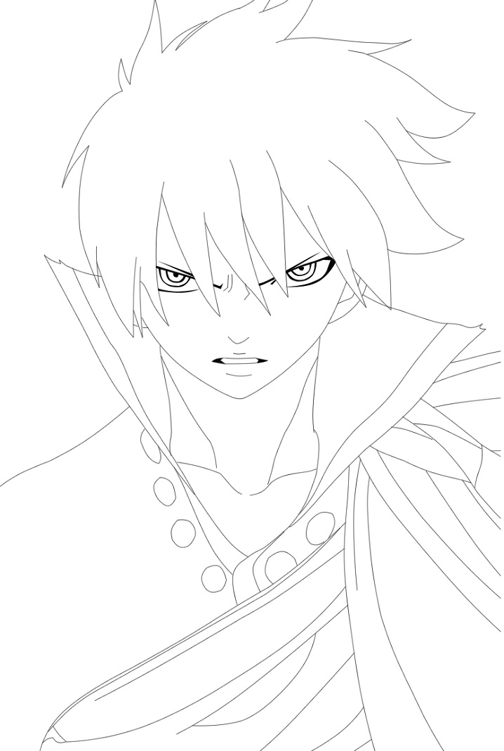angry zeref