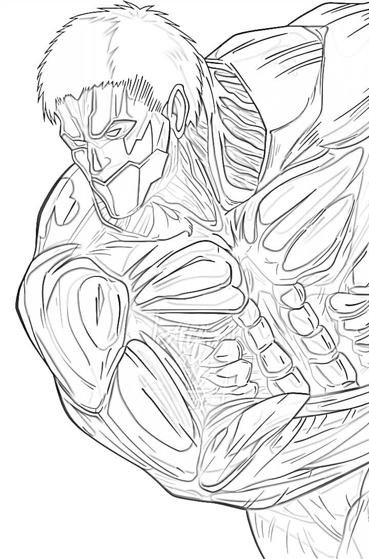 armored titan from attack on titan