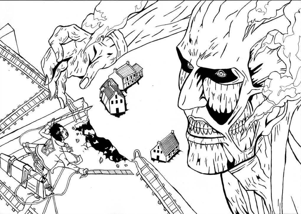 colossus titan vs eren